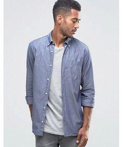 Jack & Jones | Джинсовая Рубашка Из Ткани Шамбре Premium