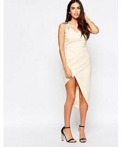 VLabel London | Платье С Асимметричным Подолом Vlabel Lyle