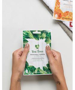 Beauty Extras | Очищающая И Увлажняющая Маска-Салфетка С Экстрактом Чайного Дерева Vitamasque