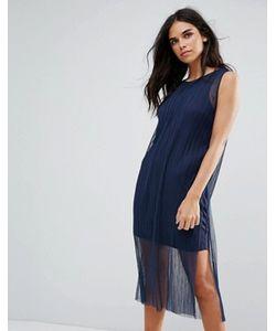 Vero Moda | Платье С Сетчатым Верхним Слоем