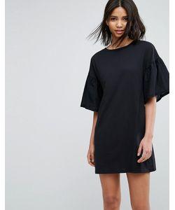 Vero Moda | Платье А-Силуэта С Расклешенными Рукавами