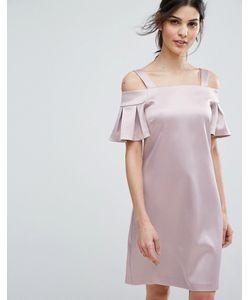 Closet London | Платье Мини С Открытыми Плечами