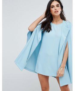 Unique 21 | Цельнокройное Платье С Кейпом