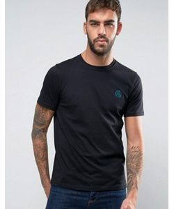 PS PAUL SMITH | Ps By Paul Smith Ps Flocked Logo T-Shirt Slim Fit In