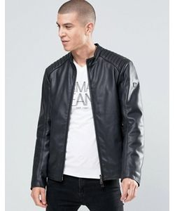 ARMANI JEANS | Байкерская Куртка Из Искусственной Кожи