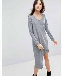 NYTT | Асимметричное Платье С Длинными Рукавами