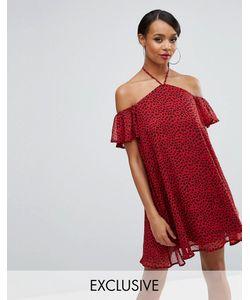 Rare | Свободное Платье С Леопардовым Принтом London