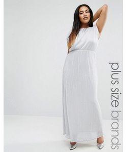 Club L | Платье Макси Из Ткани Металлик Plus