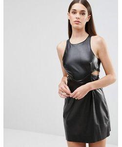 TFNC | Полиуретановое Платье С Вырезами