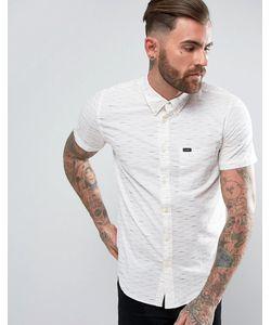 Lee | Рубашка Классического Кроя В Полоску На Пуговицах С Короткими Рукавами