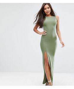 Club L | Платье Макси С Высоким Воротом