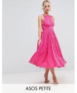 ASOS PETITE | Кружевное Платье Миди Для Выпускного Salon