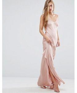 Miss Selfridge | Платье Макси На Бретельках