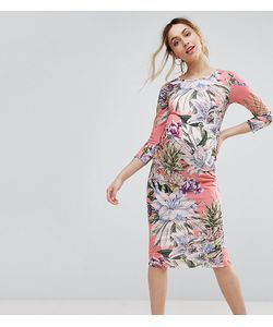 Bluebelle Maternity | Облегающее Платье С Цветочным Принтом