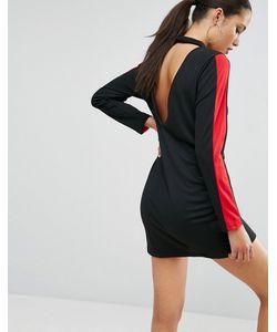 Asos | Цельнокройное Платье В Спортивном Стиле С Открытой Спиной