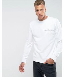 Calvin Klein Jeans | Свитер С Вышитым Логотипом Calvin Klein