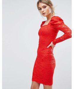 TFNC | Кружевное Платье Миди