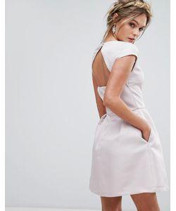 Chi Chi London | Платье Мини С Вырезом Сердечком И Открытой Спиной