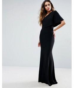 Club L | Платье Макси На Одно Плечо