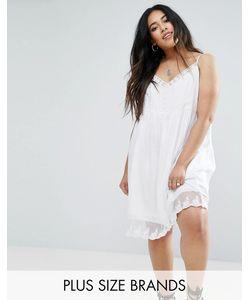 Diya | Платье На Бретельках С Кружевной Отделкой