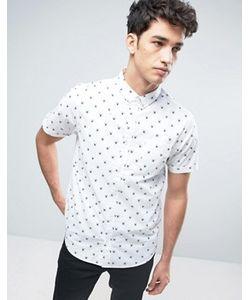Brave Soul   Рубашка С Короткими Рукавами И Пауками