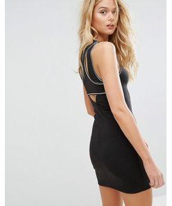 Hollister | Облегающее Платье Со Спиной-Борцовкой
