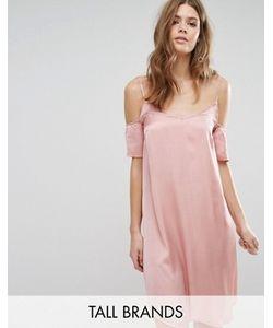 Vero Moda Tall | Платье-Сорочка С Вырезами На Плечах
