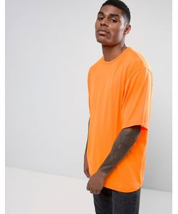 Granted | Ярко-Оранжевая Oversize-Футболка