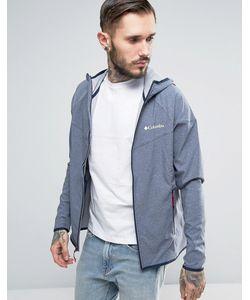 Columbia | Мягкая Меланжевая Куртка С Капюшоном Canyon