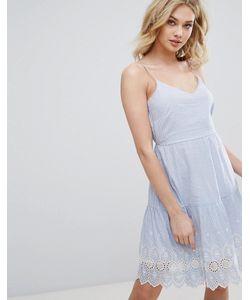 Vero Moda | Платье С Вышивкой Ришелье