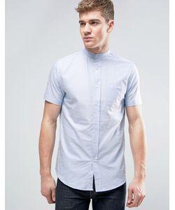 Brave Soul   Оксфордская Рубашка С Короткими Рукавами И Воротником На Пуговице
