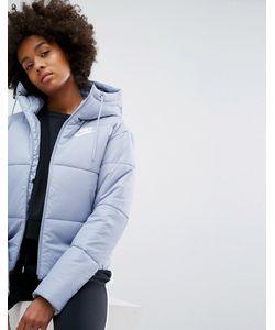 Nike | Короткая Дутая Куртка С Названием Бренда На Поясе