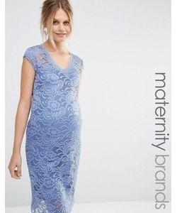 Mama Licious | Кружевное Облегающее Платье Mamalicious