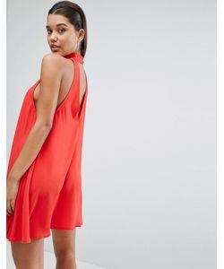 Parallel Lines | Свободное Платье С Открытой Спиной