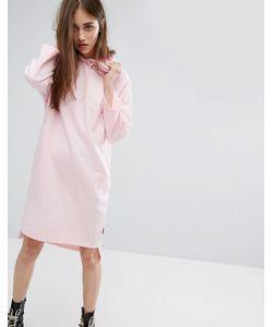 Cheap Monday | Трикотажное Платье С Капюшоном