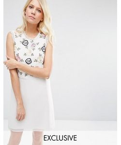 Needle & Thread | Платье Мини 2-В-1