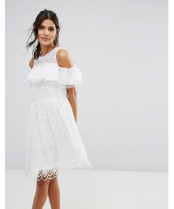 Amy Lynn | Кружевное Платье С Открытыми Плечами
