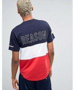 Reason | Футболка С Принтом Логотипа Сзади