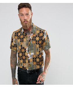 Reclaimed Vintage | Рубашка Классического Кроя С Принтом В Стиле Барокко Inspired