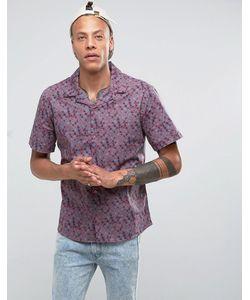 Systvm   Рубашка С Отложным Воротником И Принтом