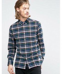 Penfield   Рубашка Классического Кроя В Клетку Из Хлопка С Начесом Barrhead