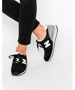 New Balance | Черные Замшевые Кроссовки 420