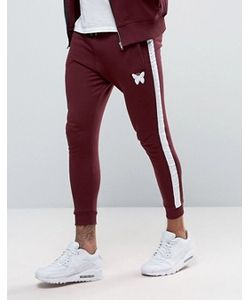 Good For Nothing | Skinny Joggers In Burgundy