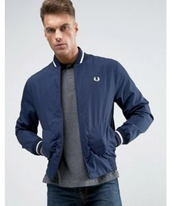 Fred Perry Laurel Wreath | Fred Perry Reissues Bomber Jacket Made In England In Navy -