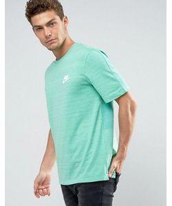 Nike | Зеленая Футболка Advanced 837010-351