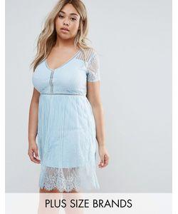 Club L | Кружевное Платье Мини Plus