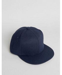 7X | Темно-Синяя Фетровая Бейсболка