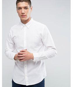 Jack & Jones | Льняная Рубашка Премиум Узкого Кроя
