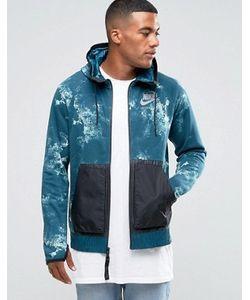 Nike | Синее Худи На Молнии International 802367-346