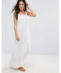 Anmol | Пляжное Платье Макси С Вышивкой